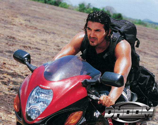 John Abraham in Dhoom