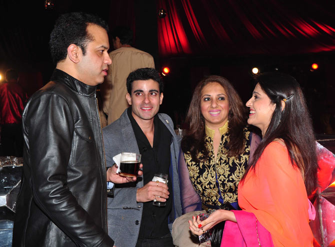 Rahul Mahajan, Gautam Rode, Munisha Khatwani and Smita Bansal