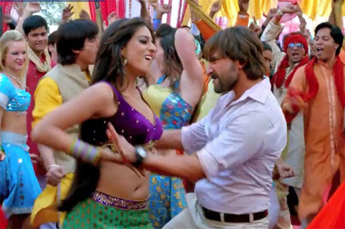 Mahi Gill and Saif Ali Khan in Bullett Raja