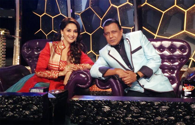Madhuri Dixit and M
