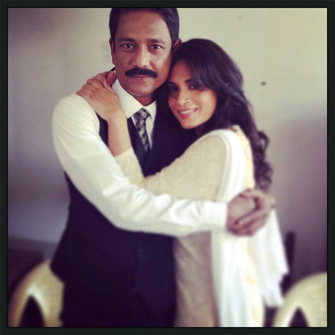 Adil Hussain and Richa Chadda