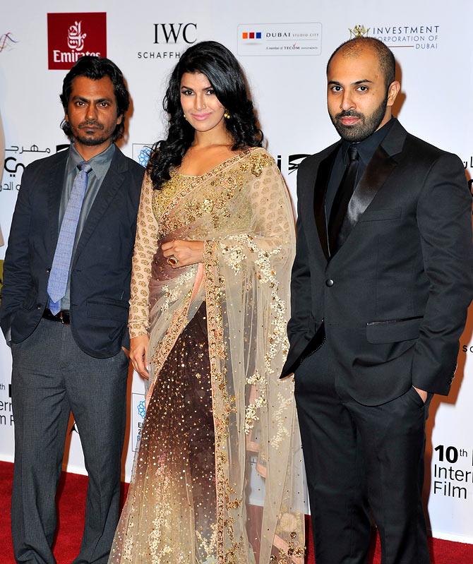Nawzuddin Siddiqui, Nimrat Kaur and Ritesh Batra