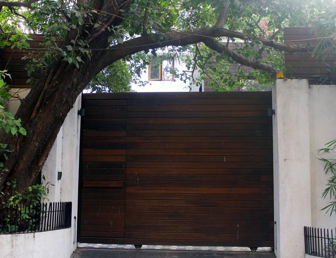 Imran Khan's bungalow