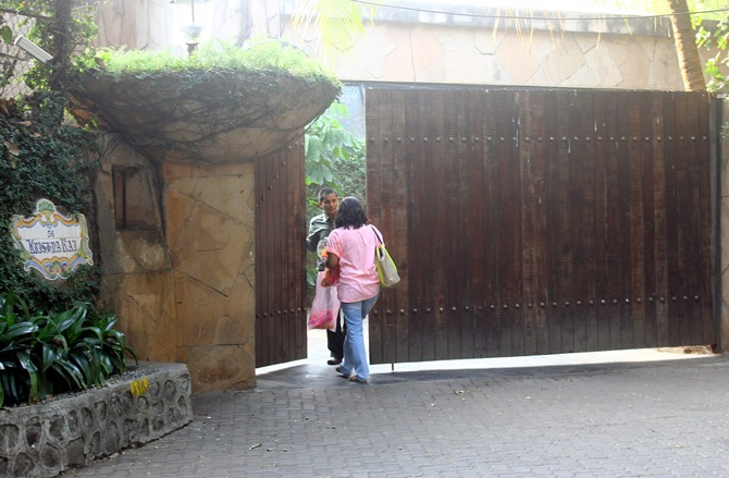 Ranbir Kapoor's home