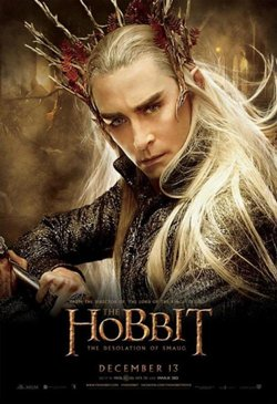 Movie poster of The Hobbit 2