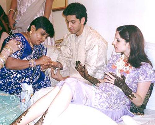 Hrithik Roshan, Sussanne, Veena Nagda