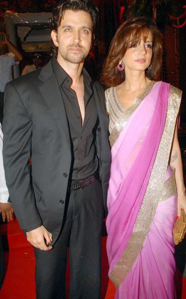 Hrithik and Sussanne: A marriage in pictures - Rediff com Movies