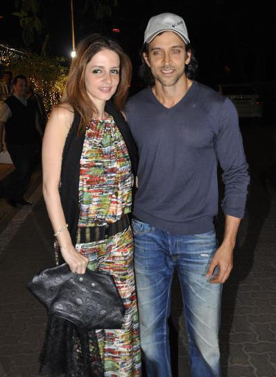 Hrithik Roshan and Sussanne: