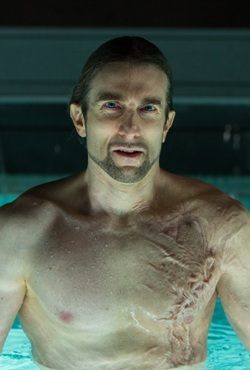Sharlto Copley in Oldboy