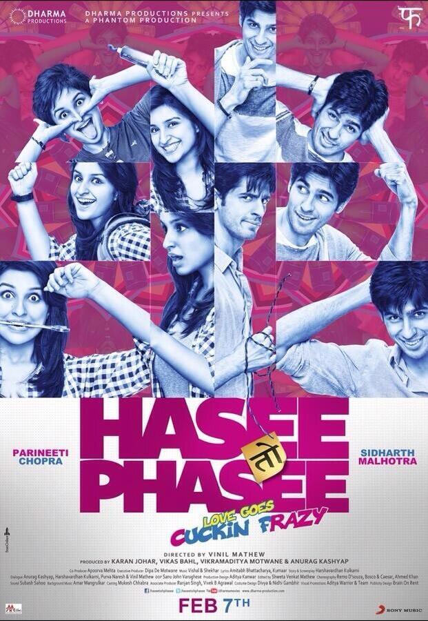 Movie poster of Hasee Toh Phasee
