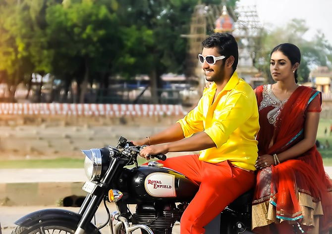 Poorna and Arulnithi in Thagararu