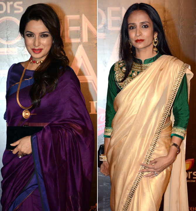 Tisca Chopra and Suchitra Pillai