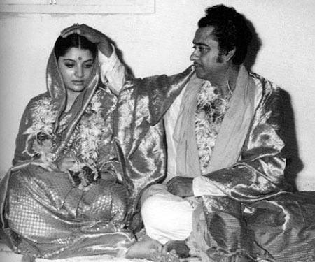 Yogeeta Bali and Kishore Kumar