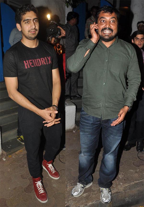 Ayan Mukherji and Anurag Kashyap