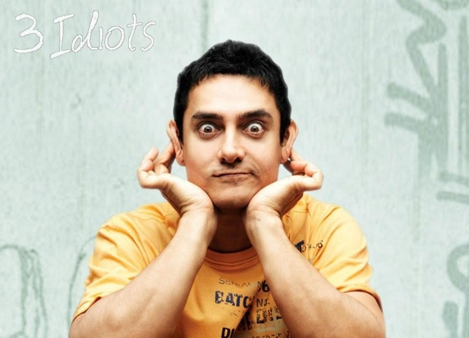 Aamir Khan in 3 Idiots.