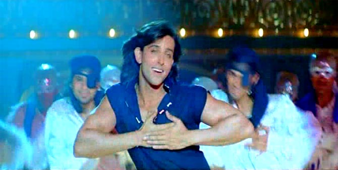 Hrithik Roshan in Krrish