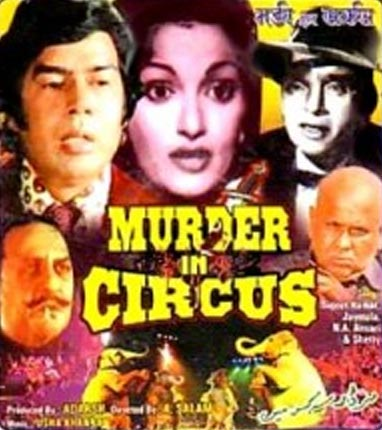 Movie poster of Murder in Circus