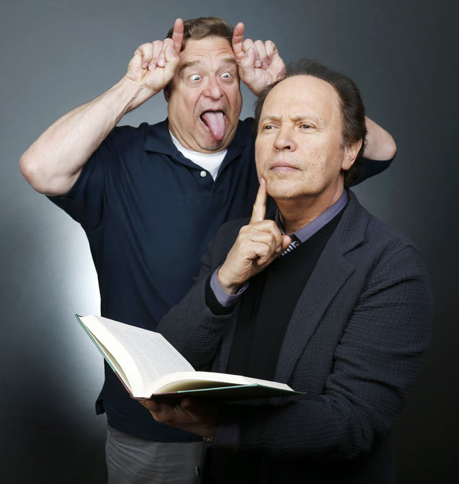 John Goodman and Billy Crystal