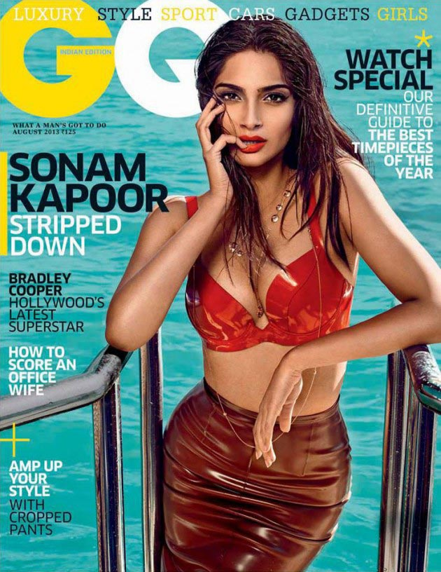 Sonam Kapoor on GQ cover