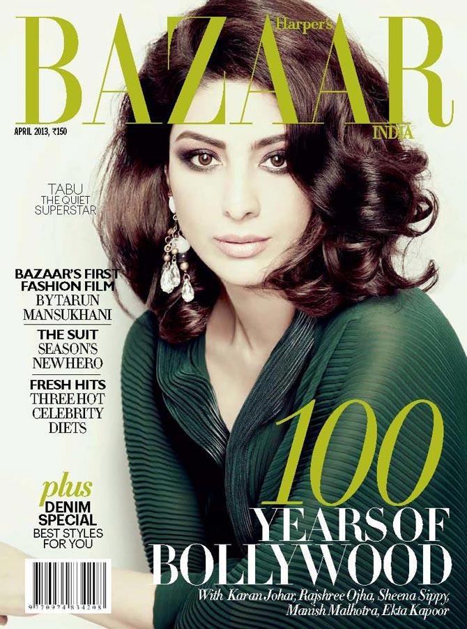Tabu on Harper's Bazaar cover