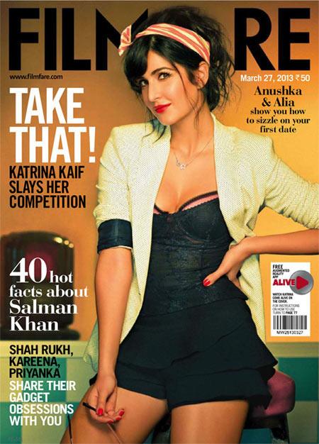 Katrina Kaif on Filmfare cover