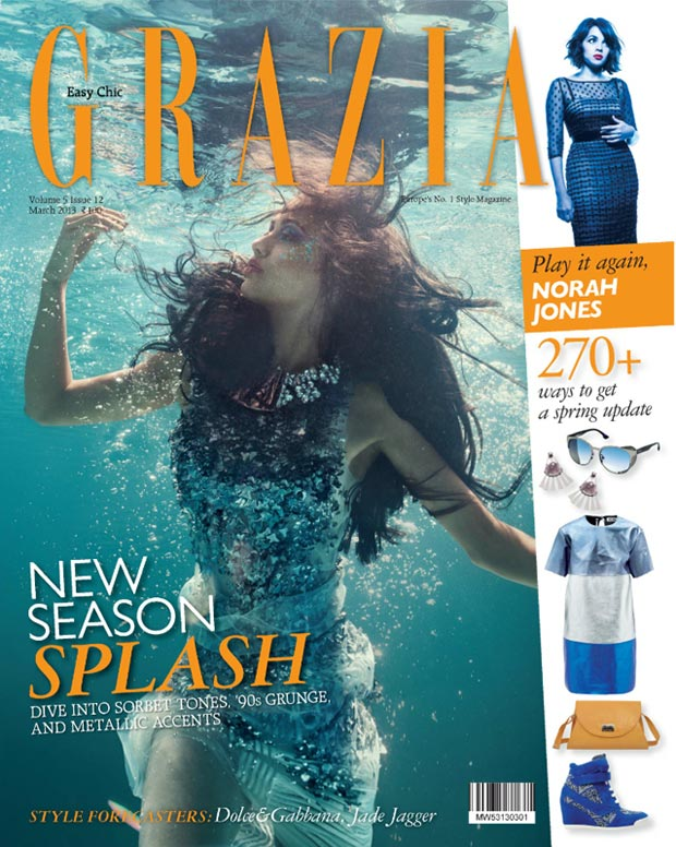 Angela Jonson on Grazia cover