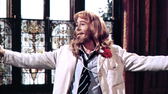 Peter O'Toole in Man Of La Mancha