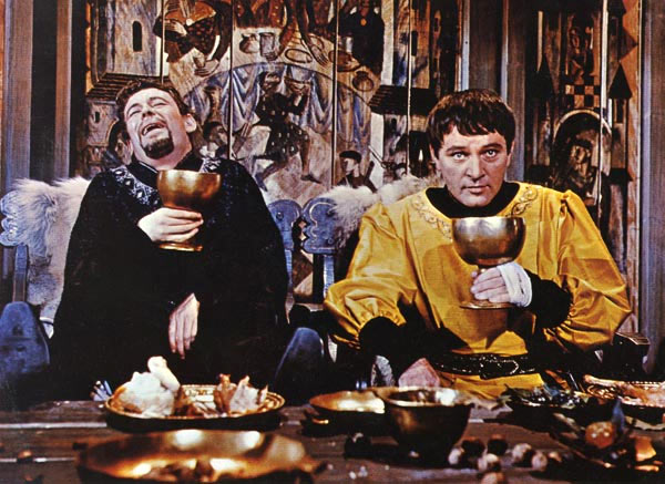 Richard Burton and Peter O'Toole in Becket or The Honour of God