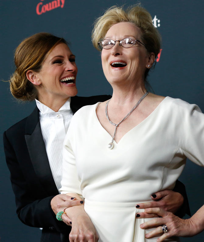 Julia Roberts and Meryl Streep