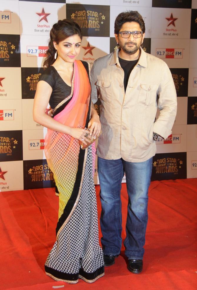 Soha Ali Khan and Arshad Warsi
