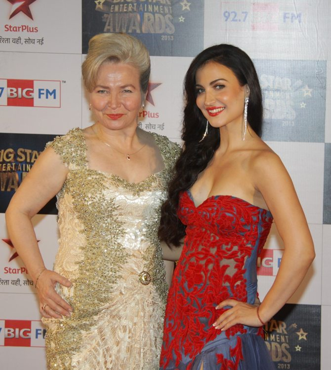 Elli Avram with her mother Maria Granlund