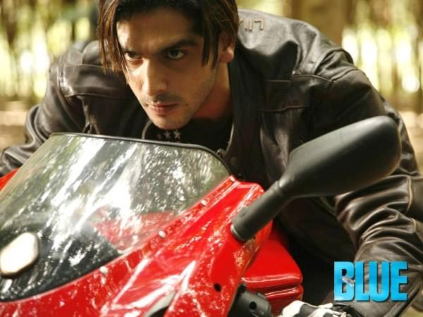 Zayed Khan in Blue