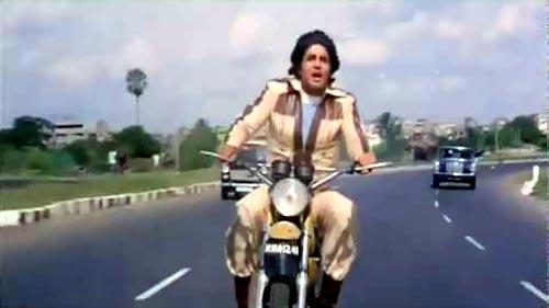 Amitabh Bachchan in Muqaddar Ka Sikandar