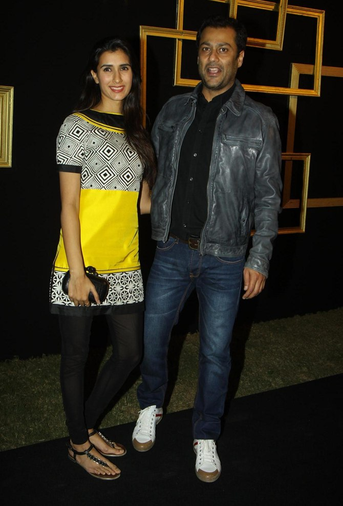 Abhishek Kapoor with girlfriend Pragya Yadav