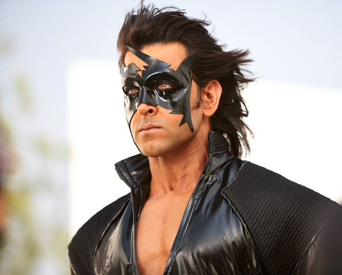 Hrithik Roshan in Krrish 3