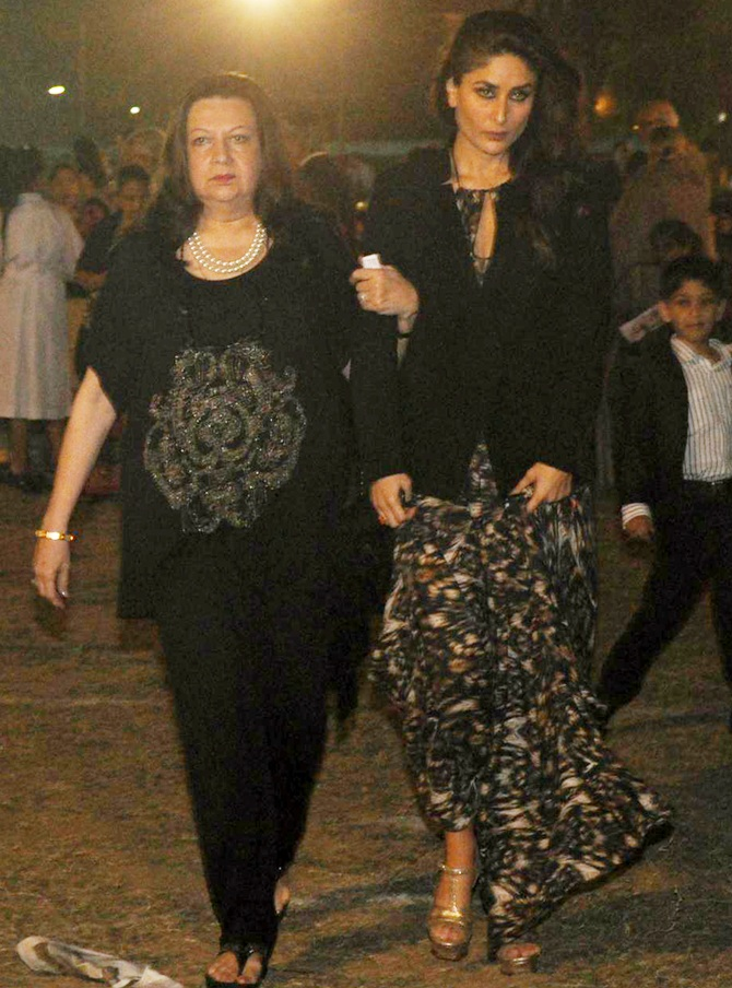 Babita and Kareena Kapoor