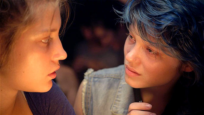 A scene from Blue is the Warmest Color