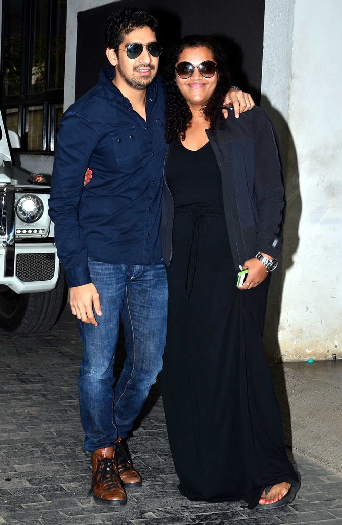 Ayan Mukerji with Aarti Shetty