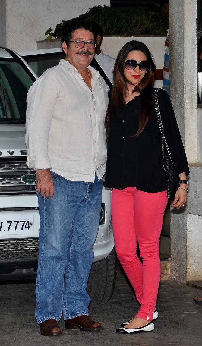 Kunal and Karisma Kapoor