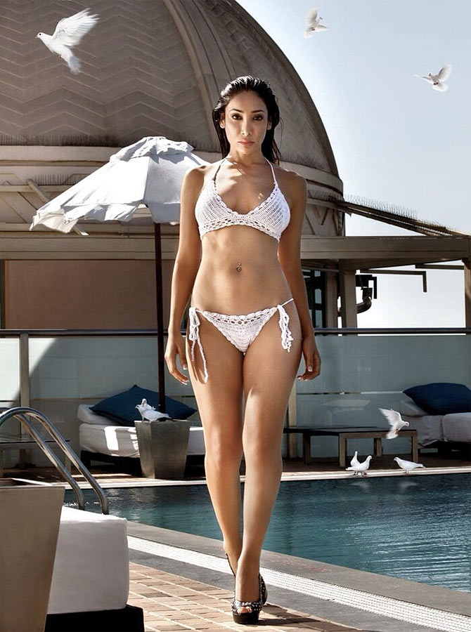 Sofia Hayat: I am not scared of Salman Khan - Rediff.com Movies