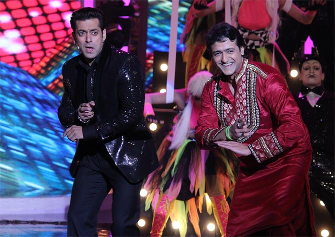 Salman Khan and Armaan Kohli