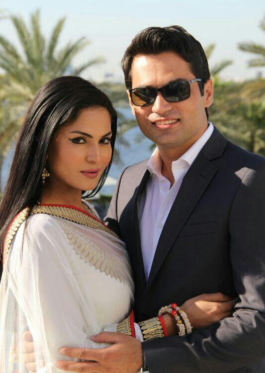 Veena Malik and Asad Bashir Khan