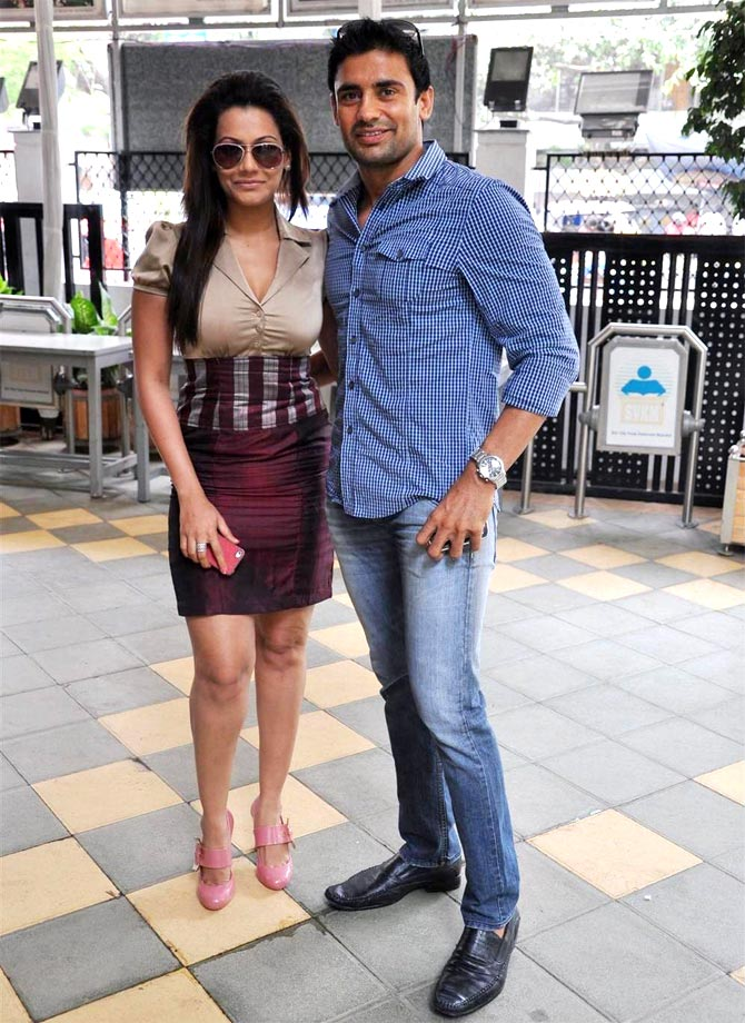 Payal Rohtagi and Sangram Singh
