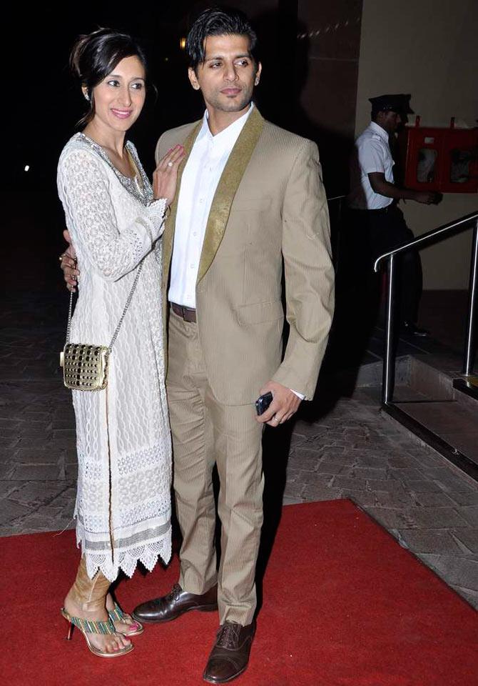 Karanveer Bohra and Teejay Siddhu