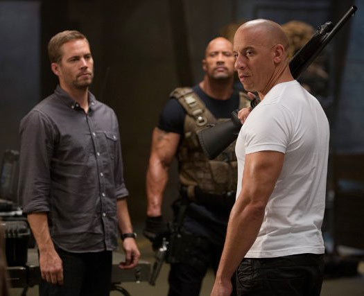 A scene from Fast And The Furious 6