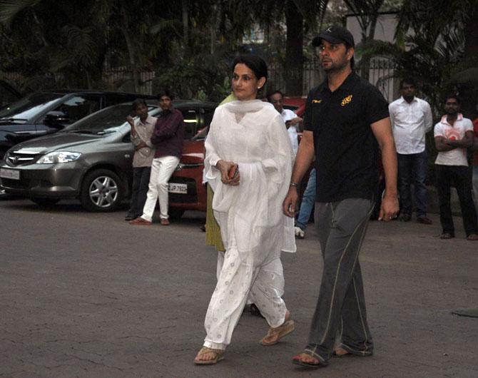 Rajeshwari Sachdev and Varun Badola