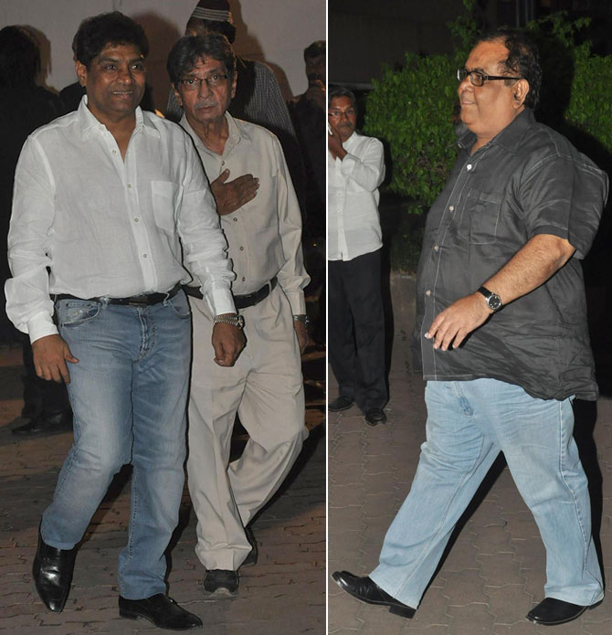 Johnny Lever, Javed Khan, Satish Kaushik
