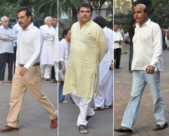 Pawan Malhotra, Raza Murad and Avtaar Gill