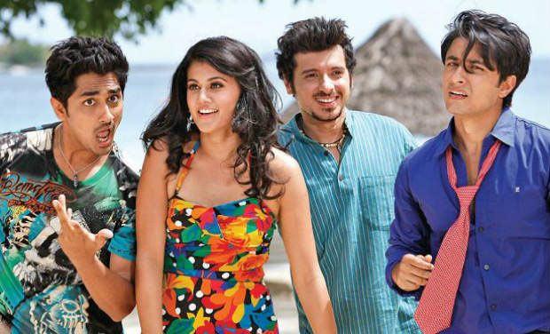 Siddharth, Taapse, Divyendu Sharma and Ali Zafar in Chashme Baddoor