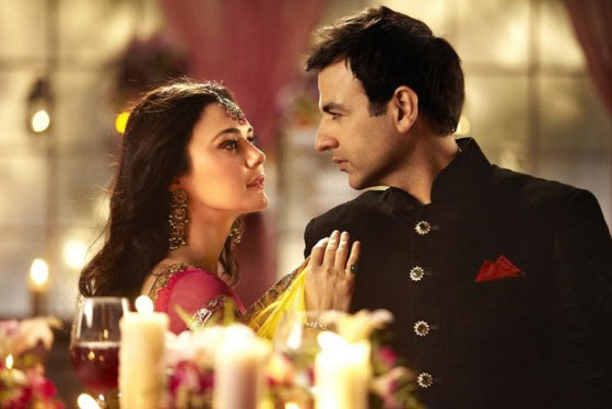 Preity Zinta and Rhehan Malliek in Ishkq In Paris